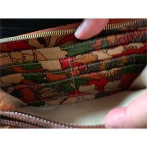 Sakroots Bags - SAKROOTS ORANGE FLORAL WALLET